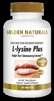 _Golden Naturals L-lysine Plus 180 tabl