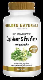 _Golden Naturals Caprylzuur & Pau darco