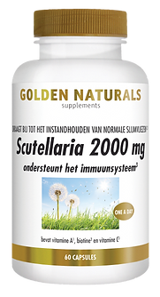 _Golden Naturals Scutellaria 2000 mg 60