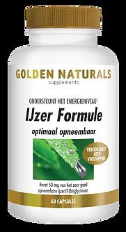 _Golden Naturals IJzer Formule 60 vega c