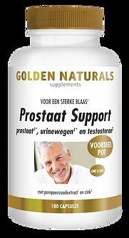 _Golden Naturals Prostaat Support 180 ve