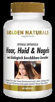 _Golden Naturals Haar-Huid-Nagels 60 cap