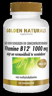 _Golden Naturals Vitamine B12 1000 mcg 1