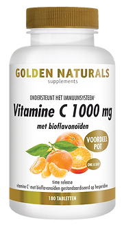 _Golden Naturals Vitamine C1000 met biof