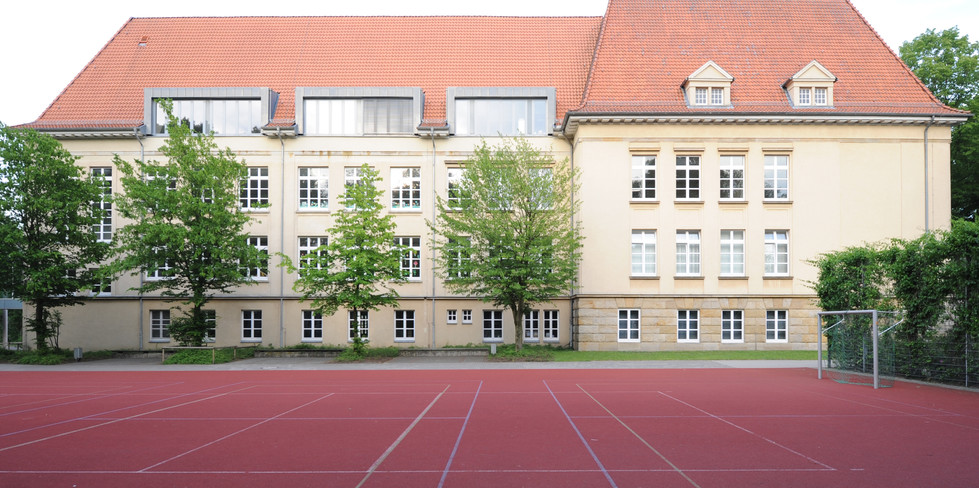 Dachausbau Altbau von Westen