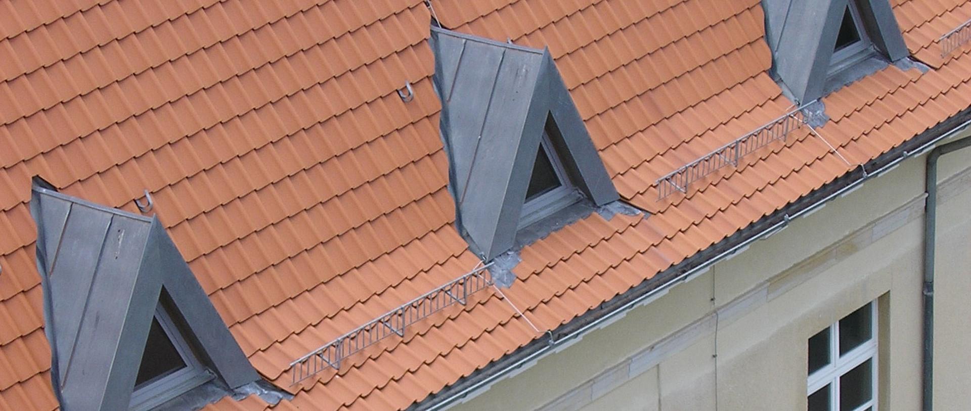 Dachausbau Altbau mit Dreiecksdachgauben