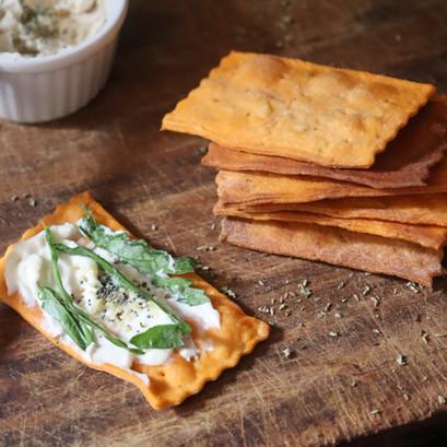 Crackers al pomodoro SENZA lievito