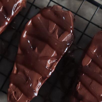 Brownies cioccolato e caramello