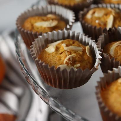CAMILLE | Muffin carota e arancia VEGAN
