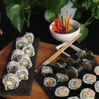 3 Tipi di Sushi Vegan