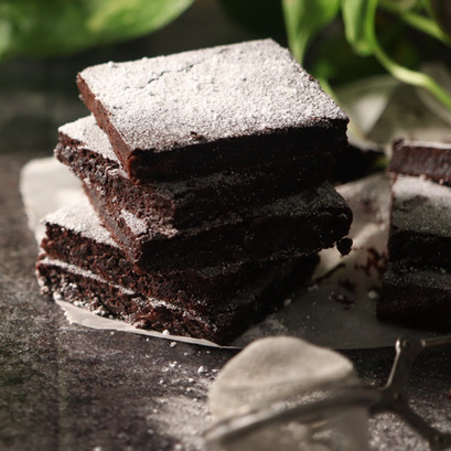 Brownies doppio cioccolato VEGAN