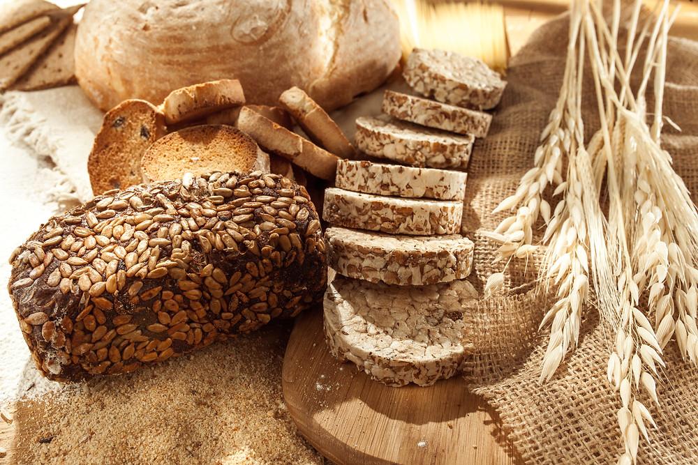 Ejemplo de alimentos con gluten - No apto para celiacos