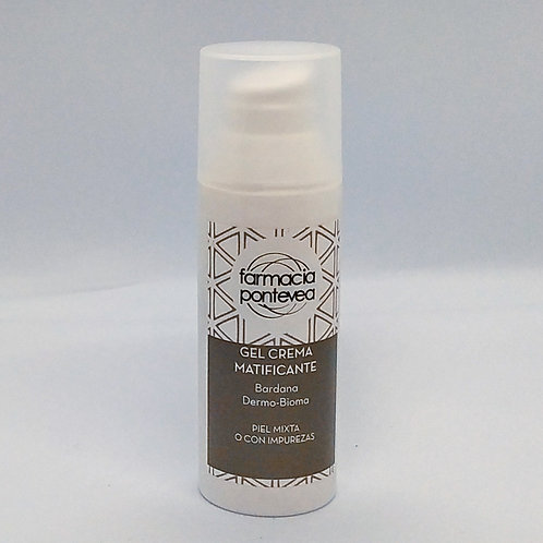 Gel Crema Matificante de Bardana 50ml