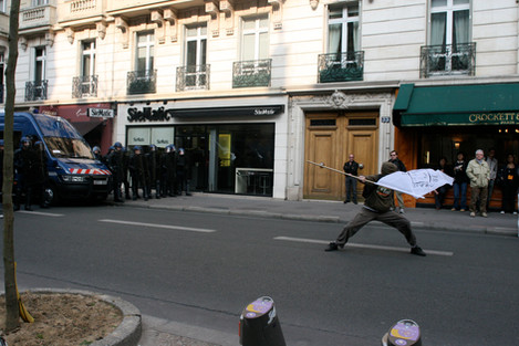 Manifestation contre la loi CPE