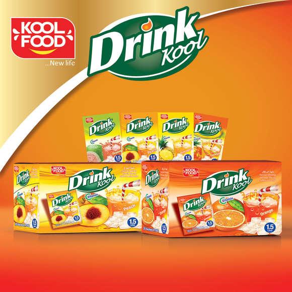 """Boisson en poudre """"DRINK KOOL"""""""