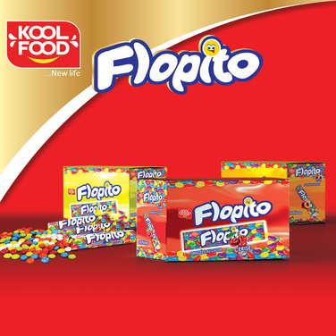 """Lentilles de chocolat dragéifiées """"FLOPITO"""""""
