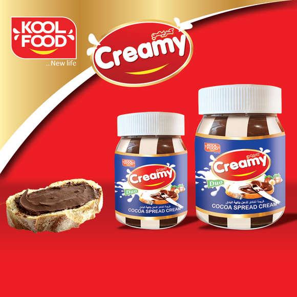 "Crème chocolatée à tartiner ""CREAMY"""
