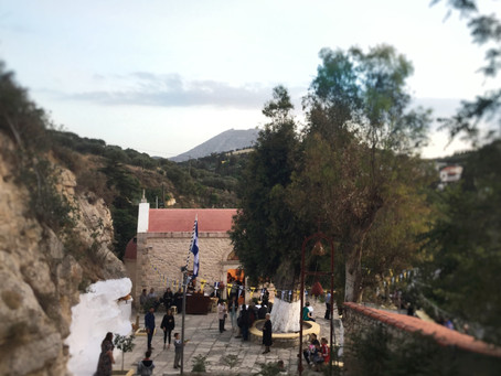 Extra-urban places of Heraklion: Agia Eirini at Spilia