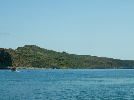 Thodorou isle, one of the secret isles in Crete