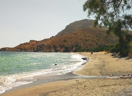 Top 5 natural beaches south of Rethymnon, and the best time to go there