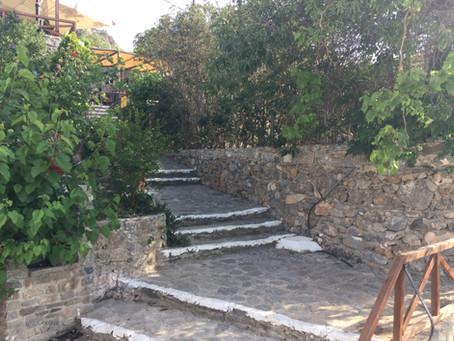 Monastiraki. A traditional Cretan village in Lassithi