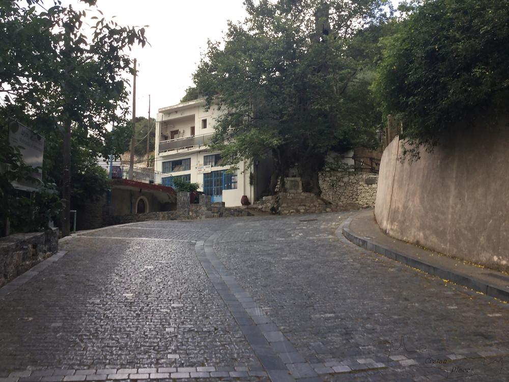 Paved road, redeveloped, Krasi village