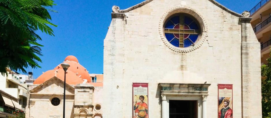 "Museum of Christian Art ""St. Catherine of Sinai"", Heraklion"
