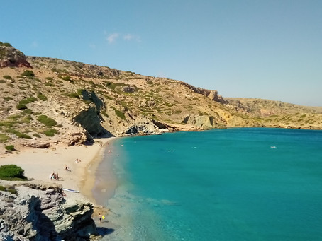 3 gorgeous beaches in ancient Itanos (Erimoupolis)