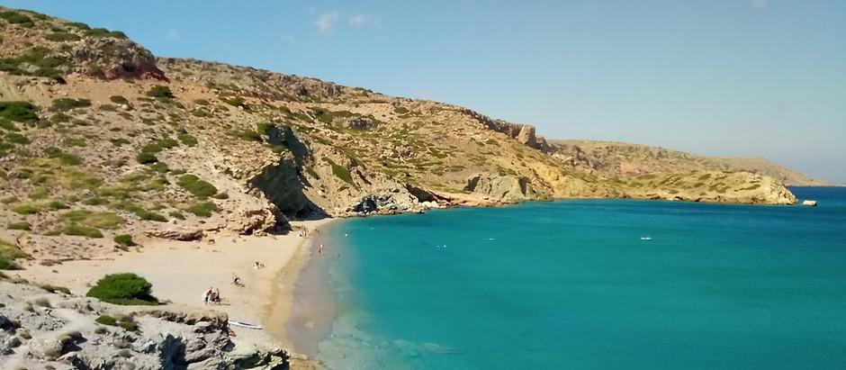 3 gorgeous beaches in ancient Itanos (Erimoupolis)
