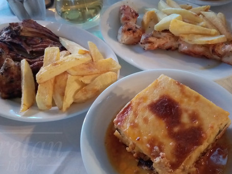 Samaria, Rethymnon: one of the oldest restaurants in town