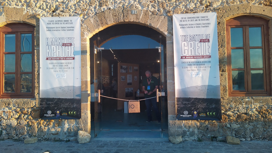 3 temporary exhibitions for the 80th anniversary of the Battle of Crete
