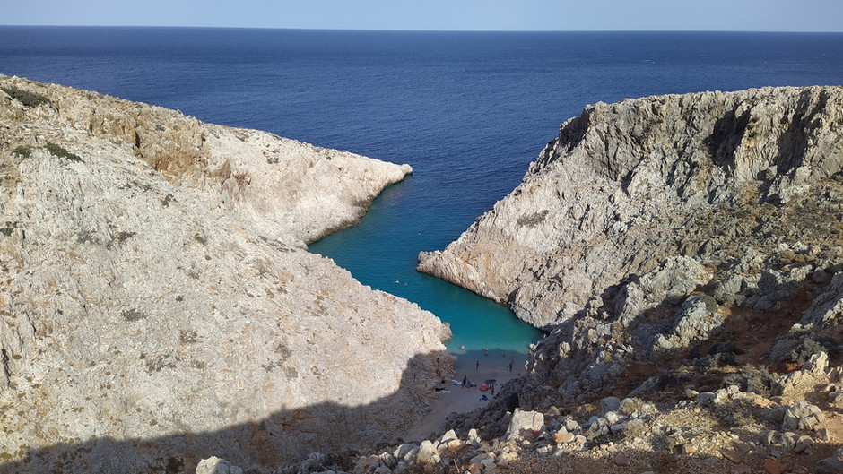 The most #instagrammable beach in Crete