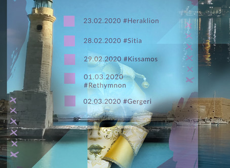 Top 4 + 1 events for Carnival 2020 in #Crete
