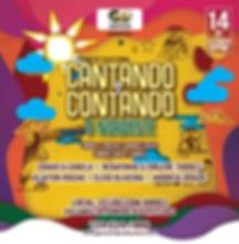 POSTER crop2 - CANTANDO E CONTANDO - O N