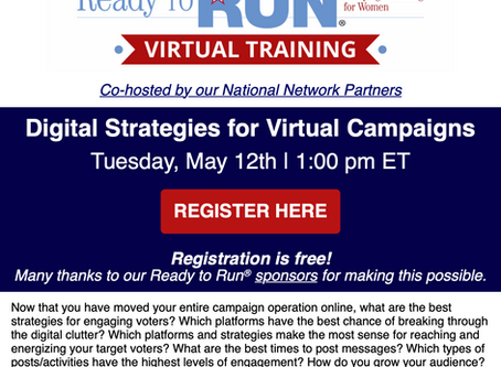 Upcoming Virtual Workshops
