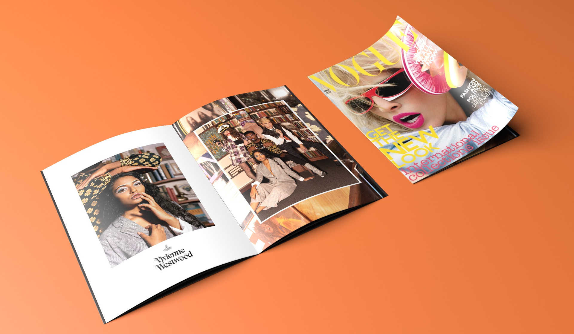 VIVIENNE WESTWOOD MOCK-UP MAGAZINE
