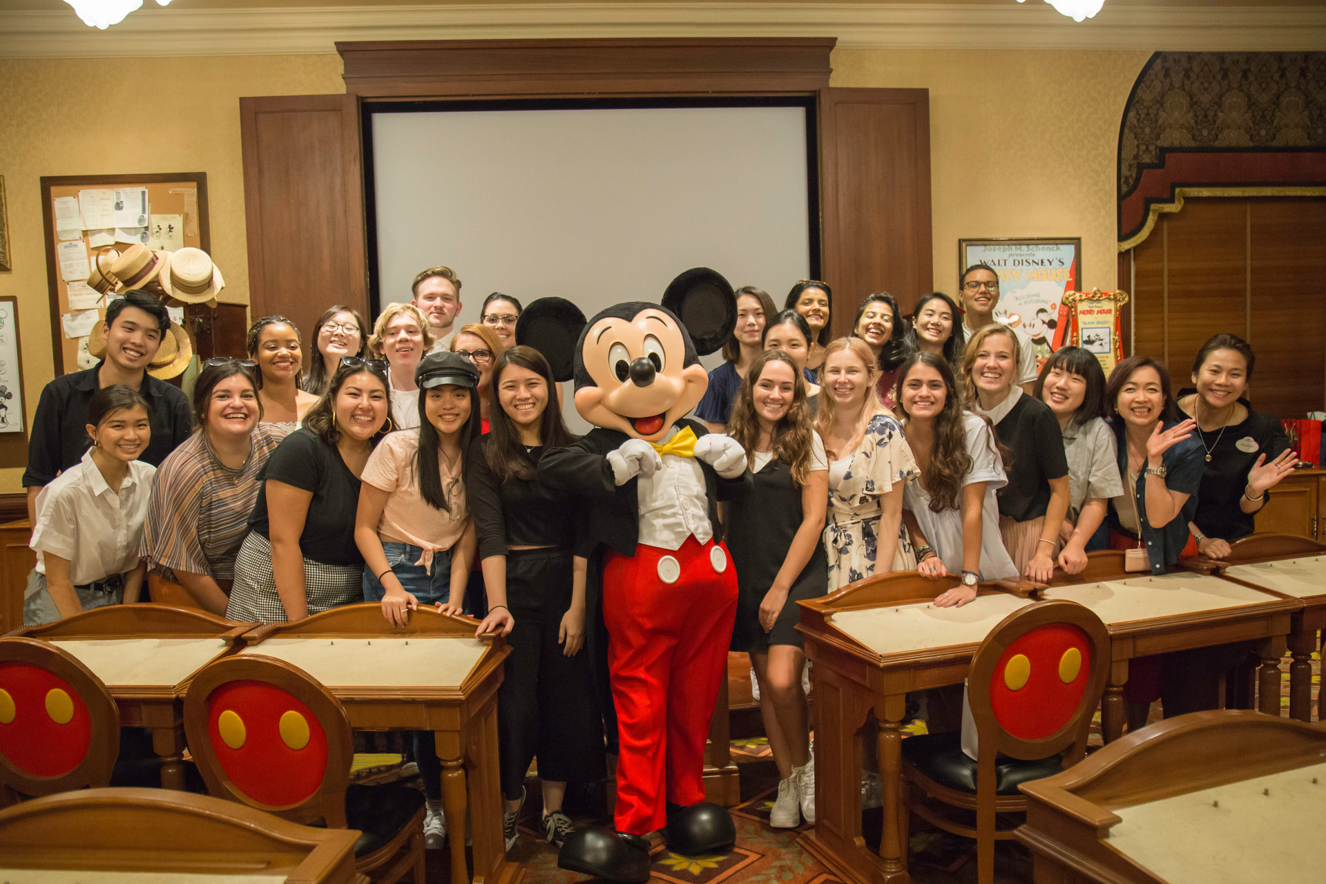 MICKEY AND TEAM
