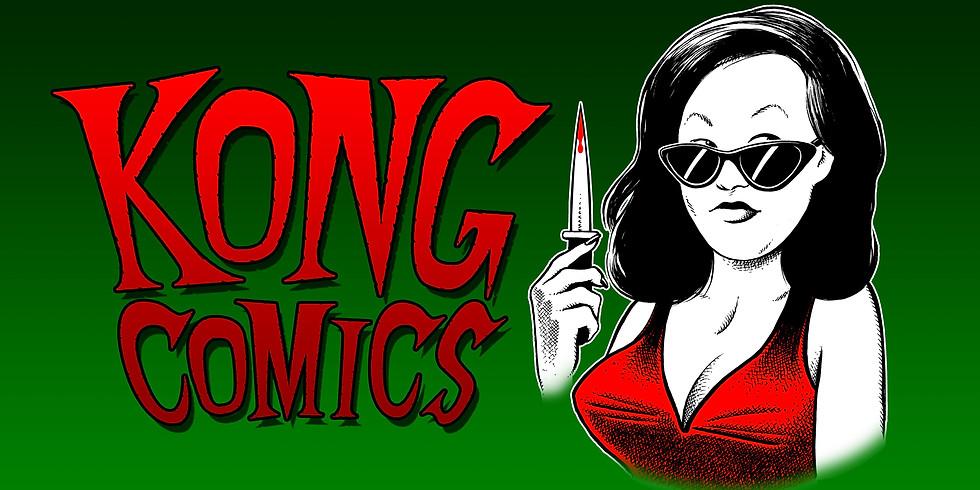 """KONG COMICS KICKSTARTER LAUNCH """"SPEND THE NIGHT""""#1"""