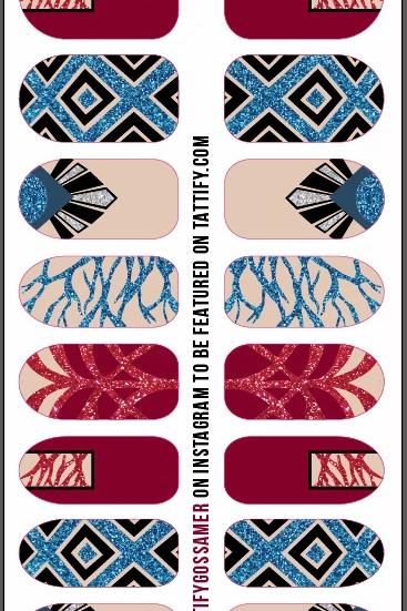 Nail Stickers (Gossamer)