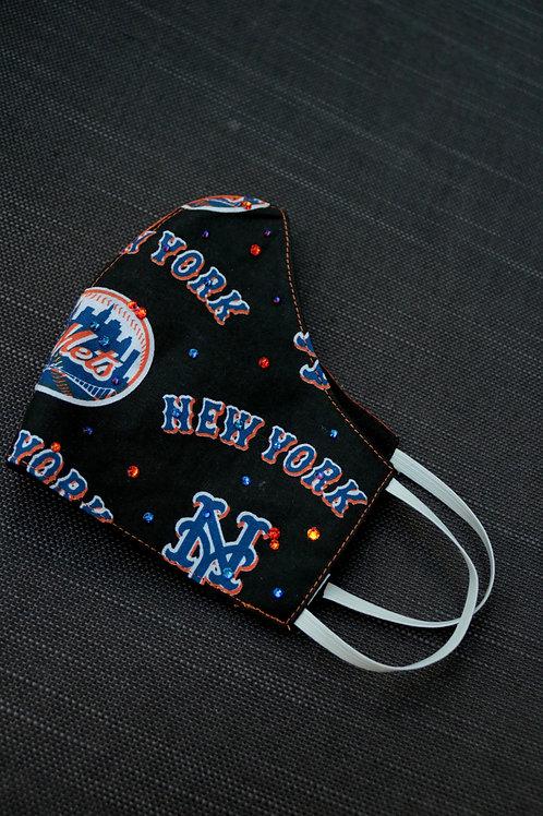 Mets Bling Mask