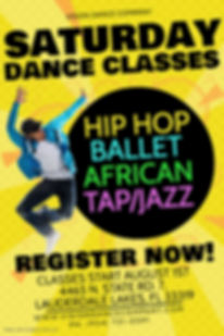 Copy of Dance Lessons Poster - Made with