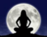 Yogini on Her Moon Seat