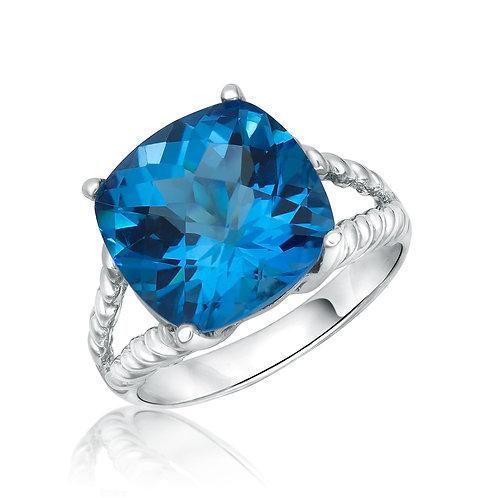 ANP2465 Swiss blue topaz