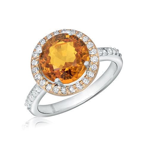 ANP3023O Orange sapphire