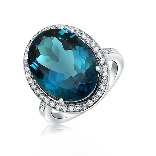ANP2055 London blue topaz