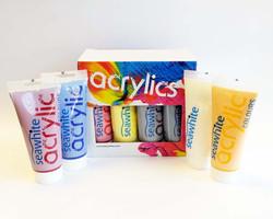 Tubes et pots acryliques