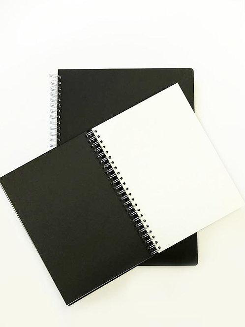 Couverture Euro Black Pop - papier noir et blanc - 140gms - 50 feuilles