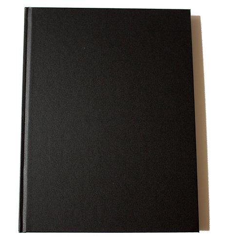 """Carnet couverture rigide """"plastique"""" - 140g - 92 pages"""