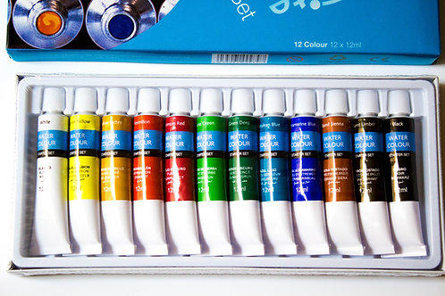 Aquarelle 12 tubes - Seawhite - 12mls