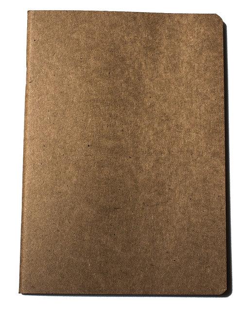 Carnet Starter Sketch Eco - Seawhite - brun recyclé - 130g